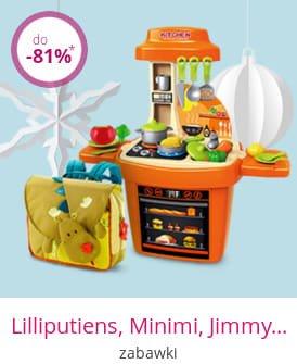 Lilliputiens, Minimi, Jimmy's Toys - zabawki