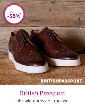 British Passport - obuwie damskie i męskie