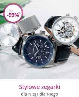 Stylowe zegarki - dla niej i dla niego