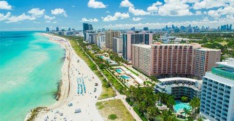 4★ Miami break from £589pp
