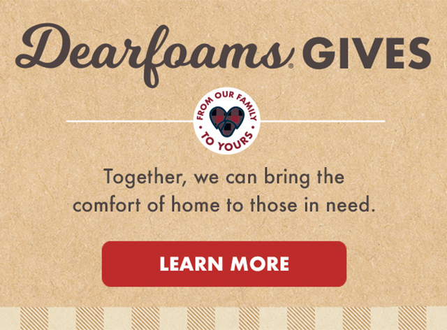 Together we can bring the comfort of home to those in need click to learn more