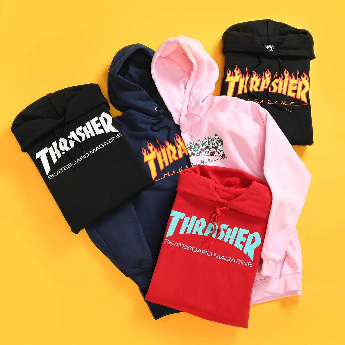 NEW ARRIVAL HOODIES FROM THRASHER - SHOP THRASHER