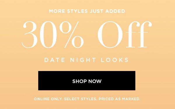 30% Off Shop Now