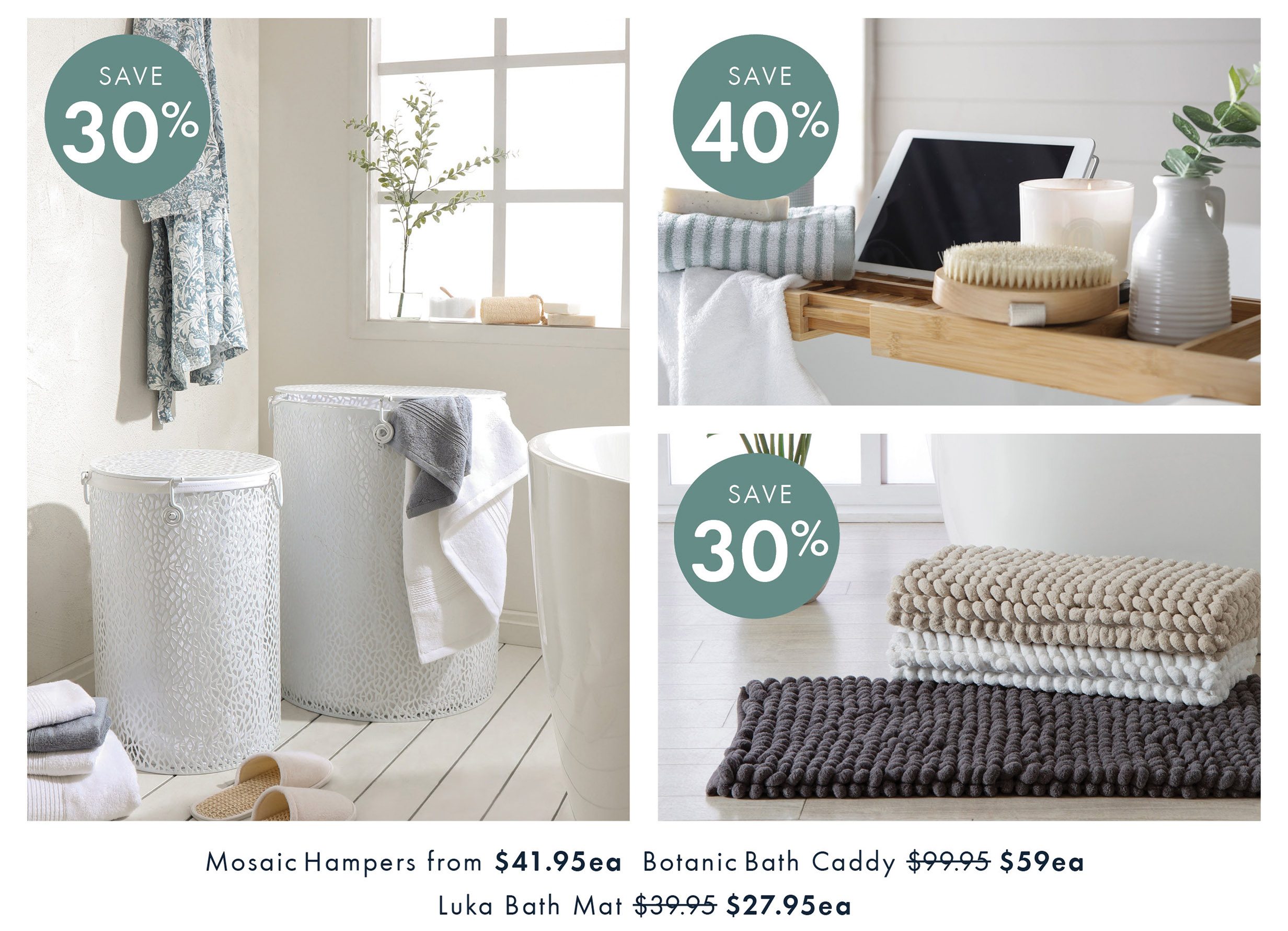 Save Up To 40% Off Bathroom | Shop Now