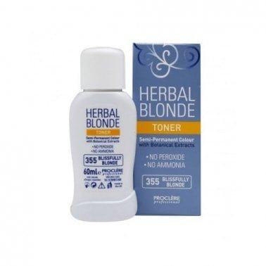 Proclere Herbal Toner Semi Permanent Colour 355 Blissfully Blonde