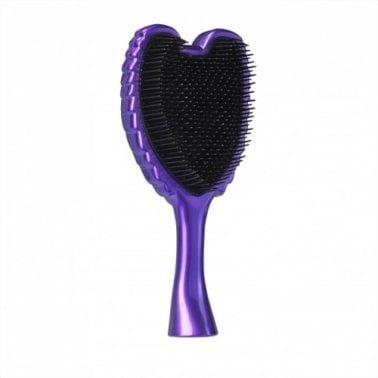 Tangle Angel Professional Detangling Brush - Pop! Purple
