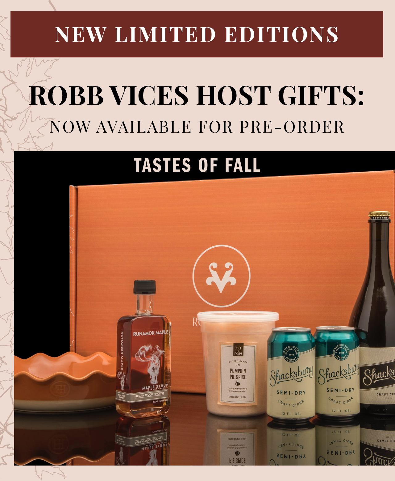 Tastes of Fall