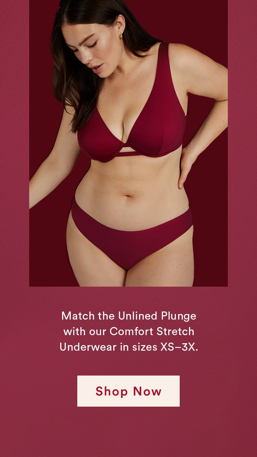 Match the Unlined Plunge
