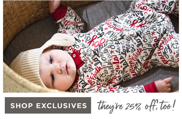 also 25% off - our holiday exclusive PJs