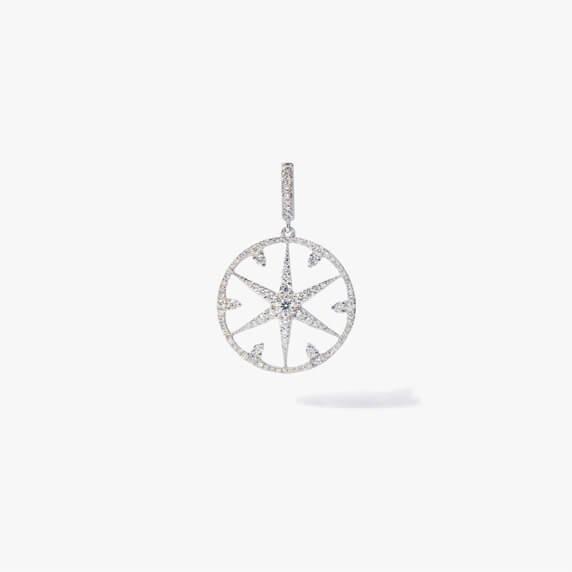 Mythology 18ct White Gold Diamond Small Star Charm