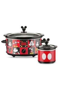 Mickey Mouse Disney 5 QT Slow Cooker w/ Dipper