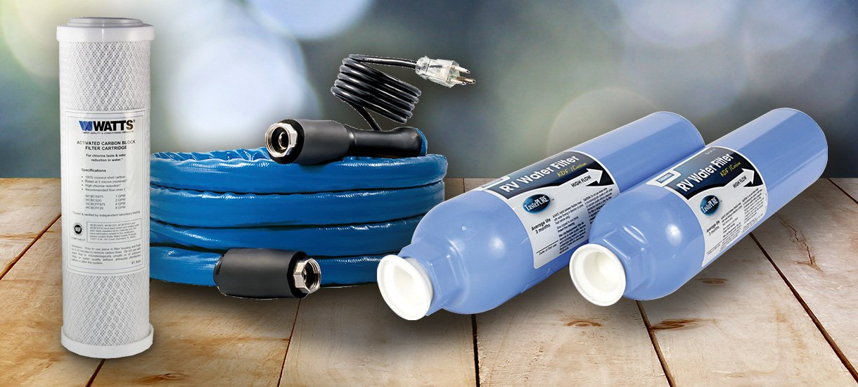 Water Hoses, Filters, and Accessories