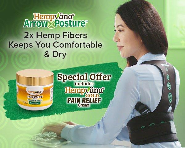 2X Hemp Fibers Keeps You Comfortable & Dry
