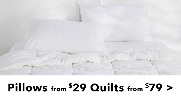 Pillows from 29 quilts from 79