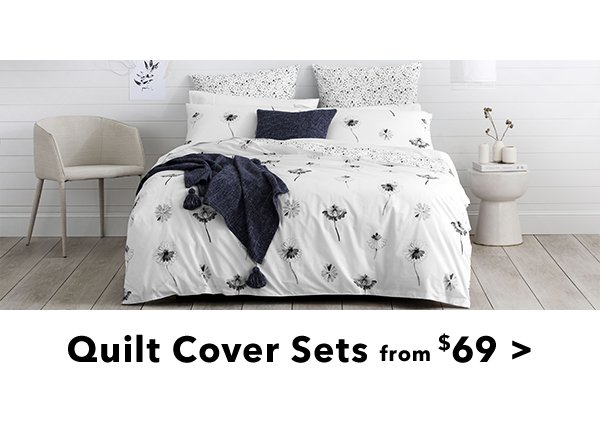 Quilt Cover Sets from 69
