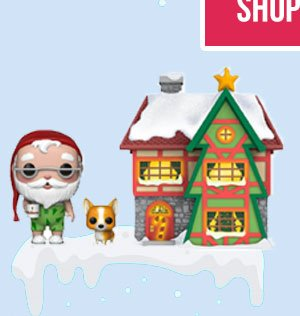 You can't miss out on the magical Santa House Pop! Town!