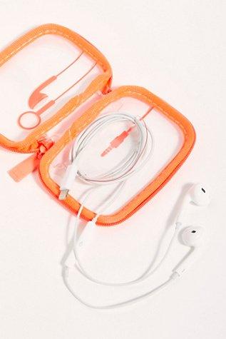 Neon Earbud Case