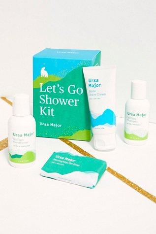 Ursa Major Lets Go Shower Kit