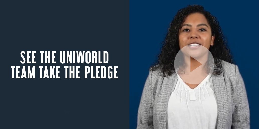 See the Uniworld team take the pledge