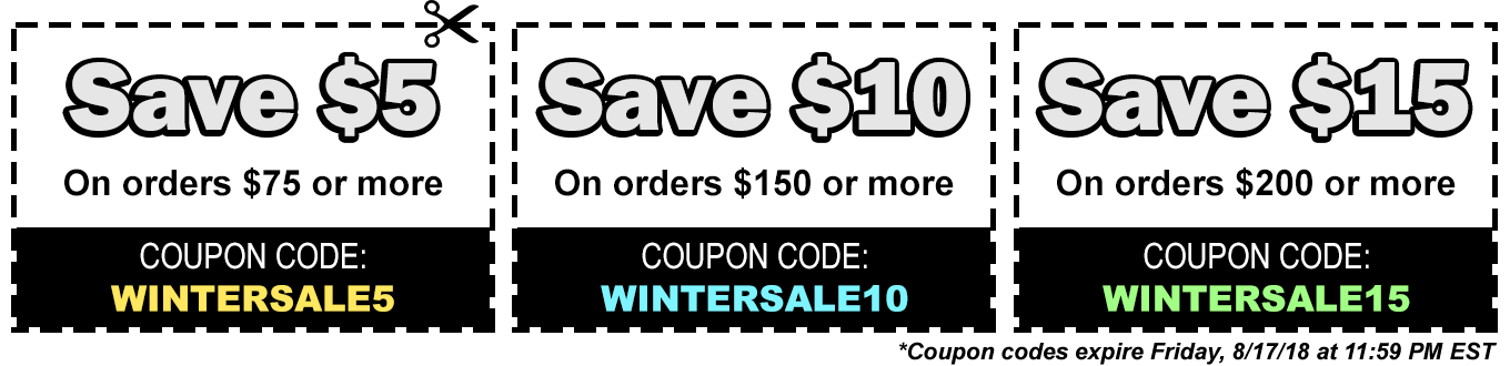 Save with our Coupon Codes!