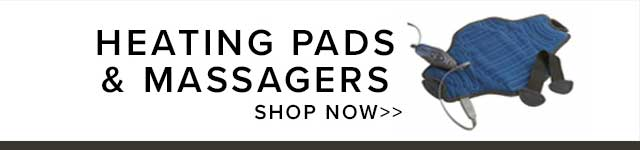 HEATING PADS & MASSAGERS - SHOP NOW