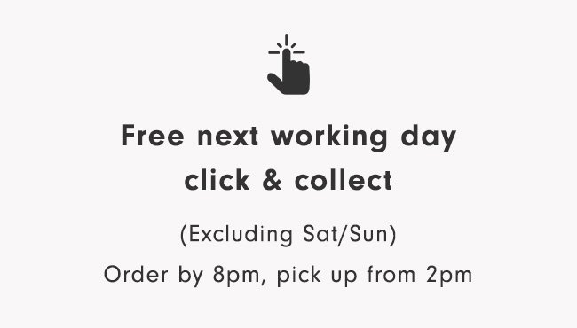 Free next working day click & collect