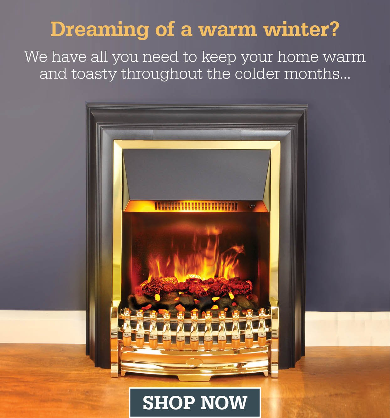 Dreaming of a warm winter?