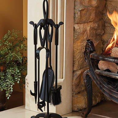 4 Piece Fireside Companion Set