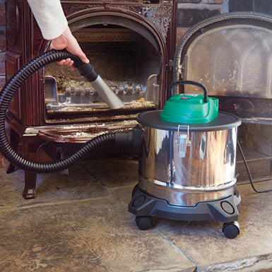 Dusty Bin Hot Ash Vacuum Cleaner