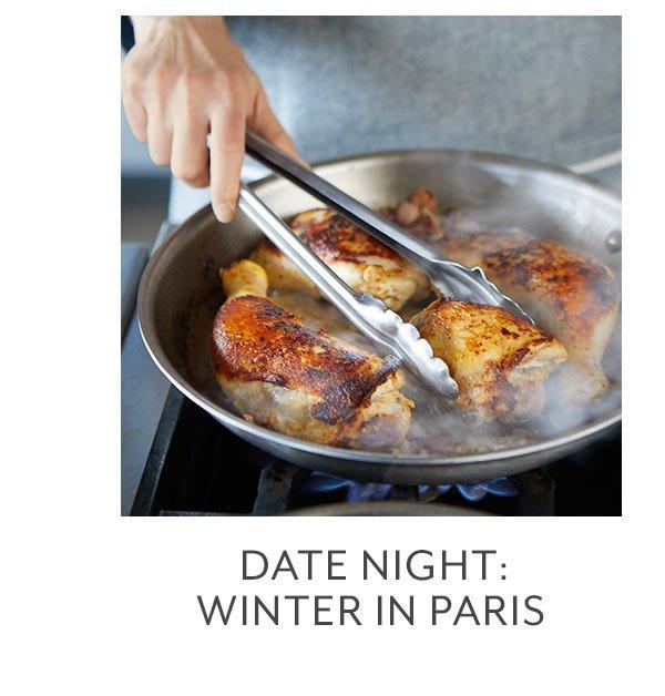Class: Date Night • Winter in Paris