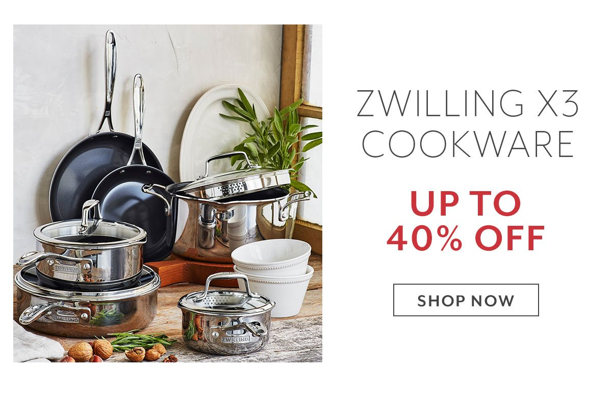 Zwilling X3 Cookware