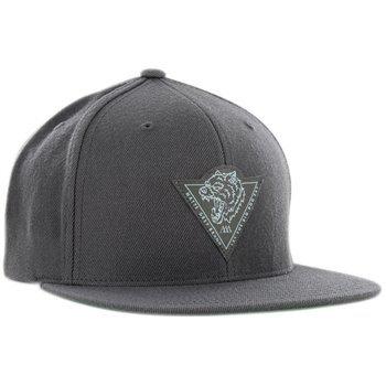 Matte Grey Big Dog Snapback Hat