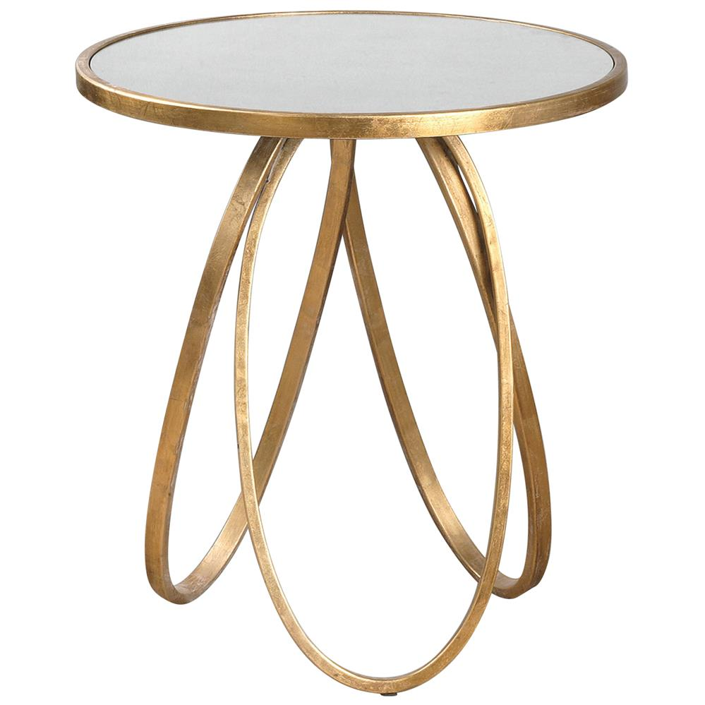 oval ring end table