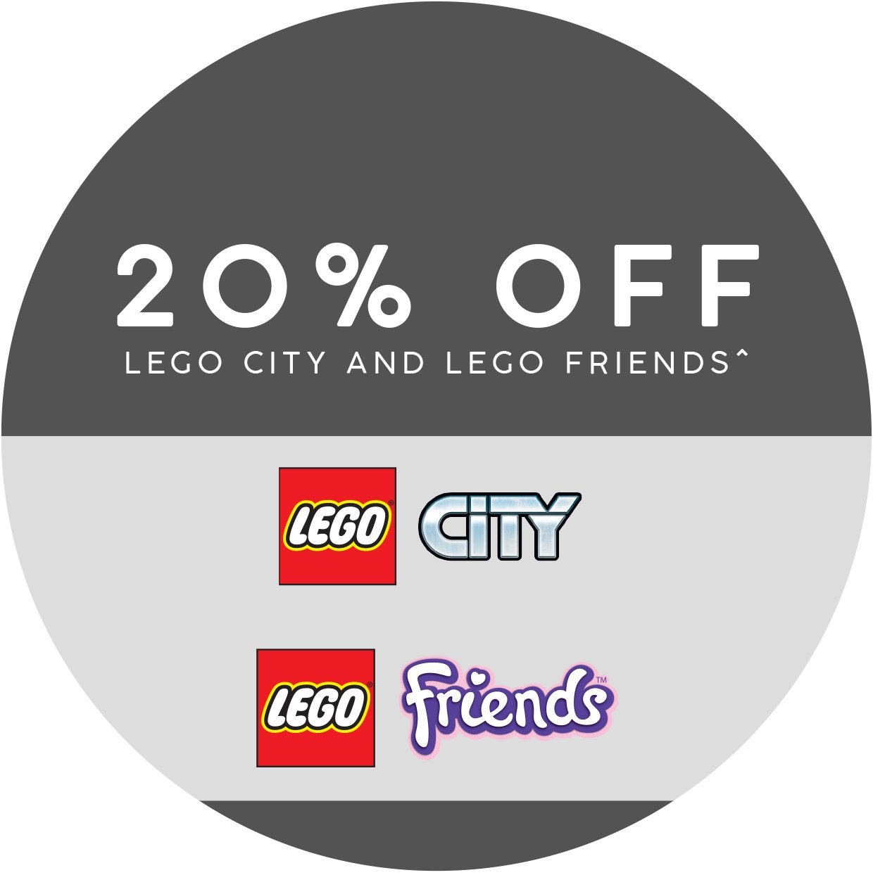 20% off these LEGO sets