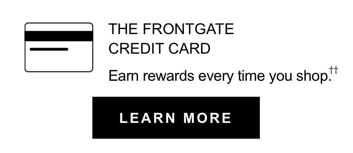 The Frontgate Credit Card