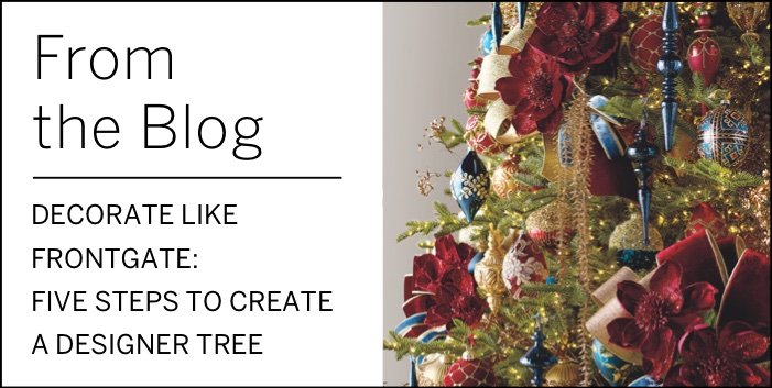 Five Steps to Create a Designer Tree