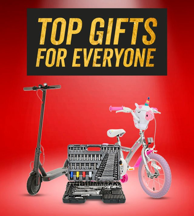 TOP GIFTS FOR EVERYONE