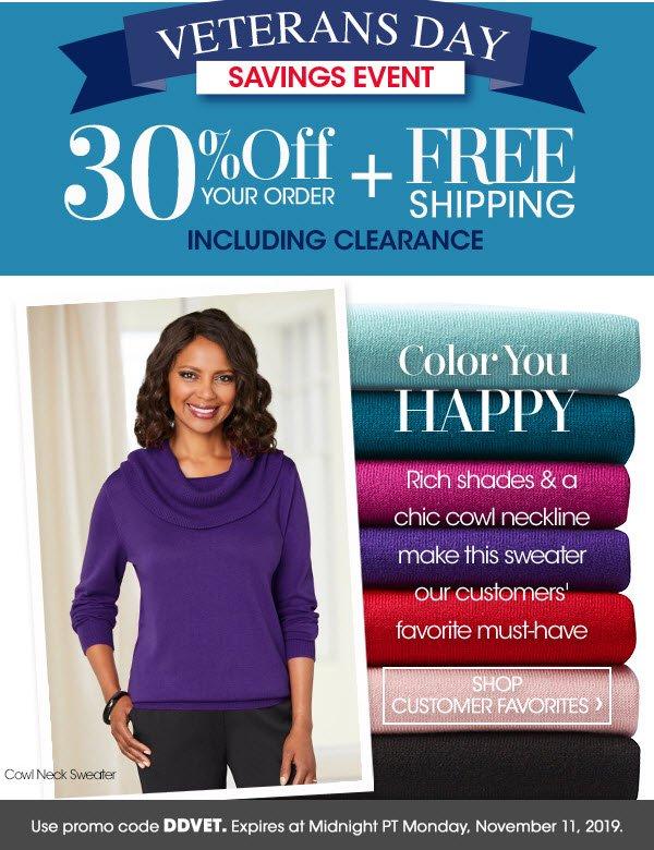 Shop Now! 30% Off!