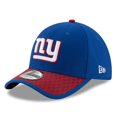 New Era New York Giants Royal 2017 Sideline Official 39THIRTY Flex Hat