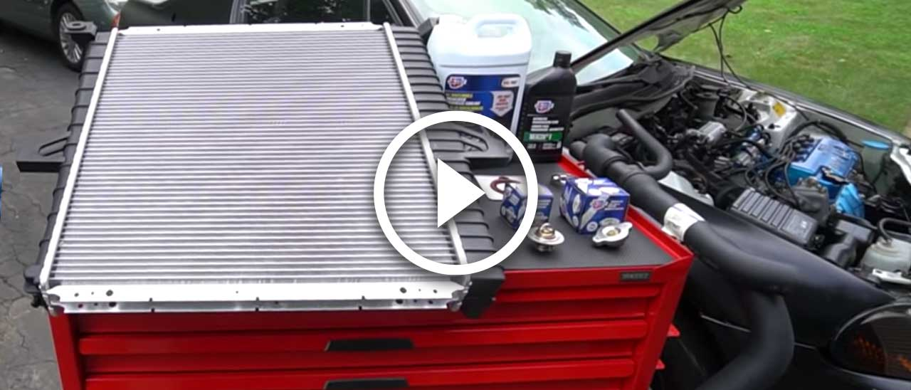 Video: How to stop radiator leaks with Chris Fix