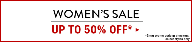 Women's Sale Up to 50% OFF
