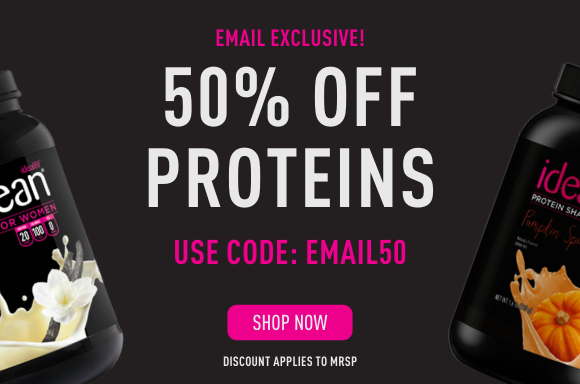 50% OFF PROTEINS
