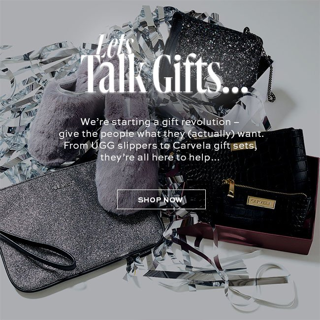 LET'S TALK GIFTS