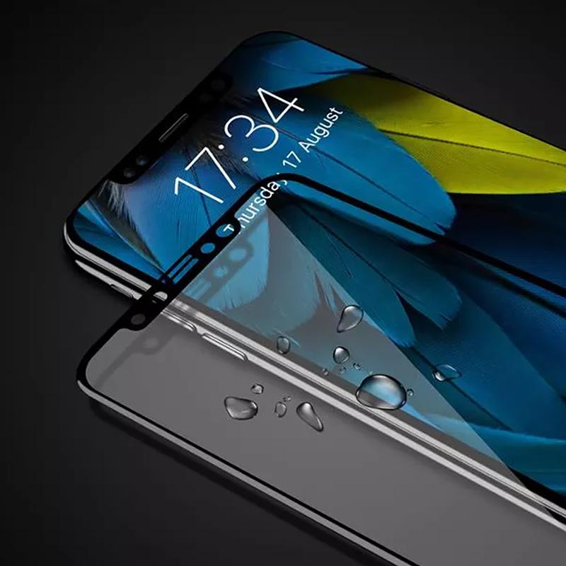 3D Kohlefaser Display-Schutzhülle für iPhone X