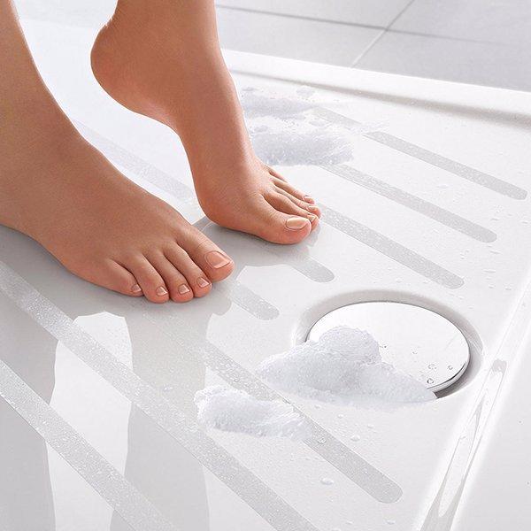 6kpl liukastumisen esto kylpyhuone tarraa