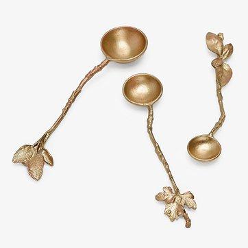 herb bronze nest spoon set