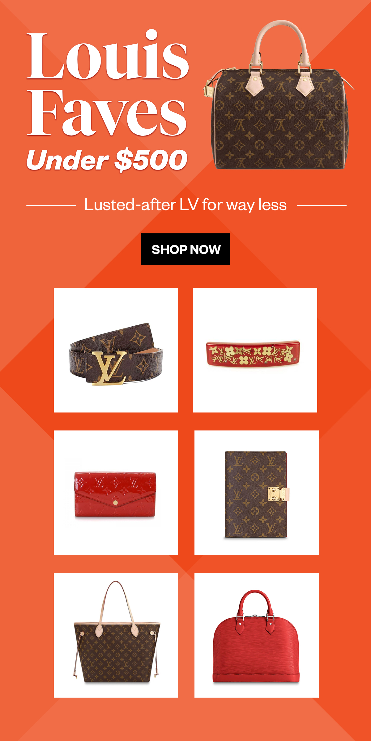 Lusted after LV for way less.