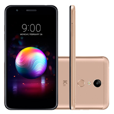 "Smartphone LG K11 Plus 5.3"", Octa-Core, Dual Chip, 32GB, Dourado - LMX410"
