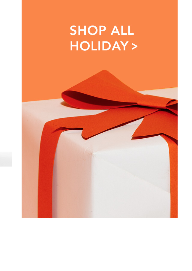 SHOP ALL HOLIDAY >