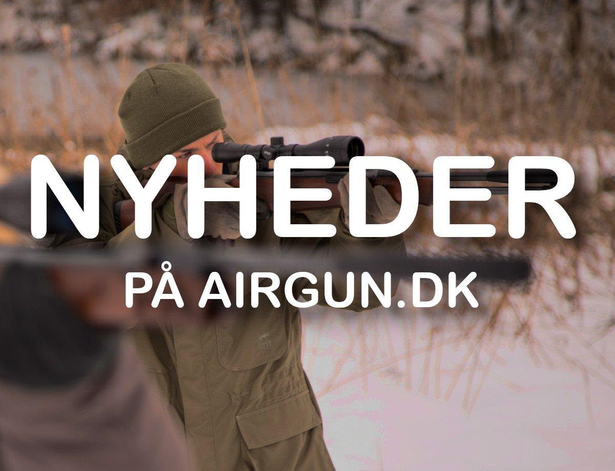 Luftgevær nyheder på AIRGUN.dk